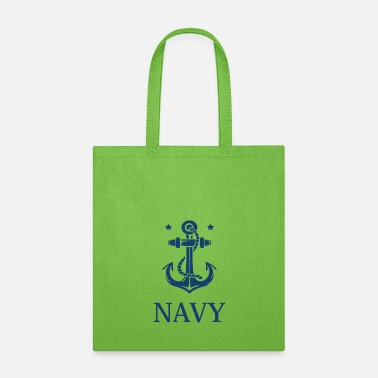 Royal Airforce Navy T-Shirt United Stated - Tote Bag