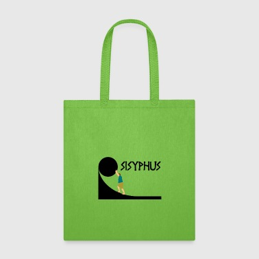 Ancient Greece Sisyphus T-Shirt, Greek Mythology Ancient Greece - Tote Bag
