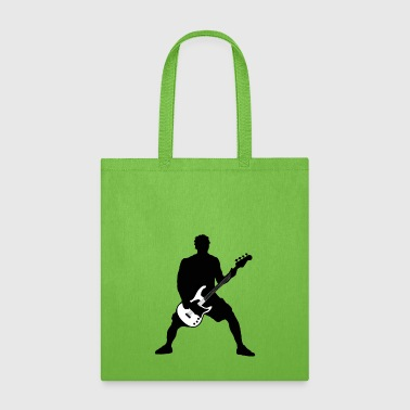 bass player - Tote Bag