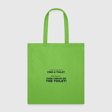 a toilet story - Tote Bag