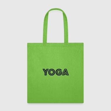 yoga wording - Tote Bag