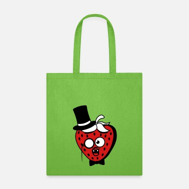 Rich Sir gentlemen rich cylinder monocle laughing face - Tote Bag