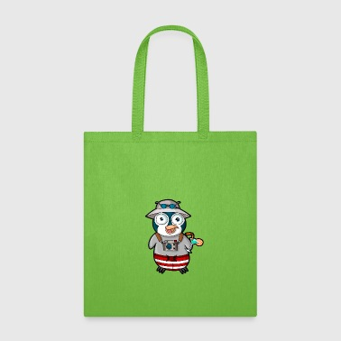 Tourist Tourist penguin - Tote Bag