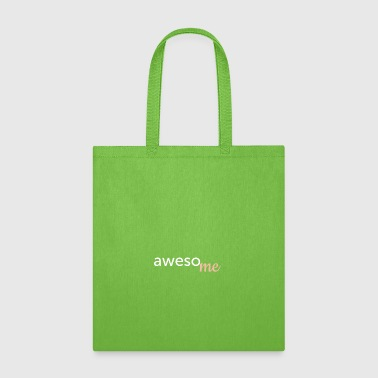 awesome Fun Word Game Humor Typo Shirt - Tote Bag