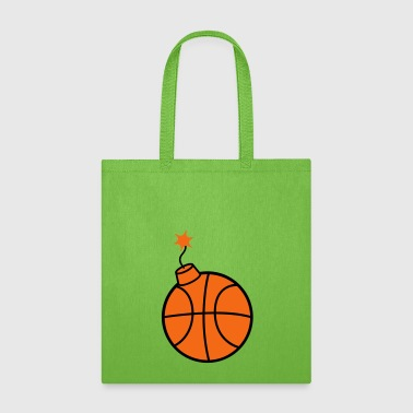 throw basketball ball play club sport gate shoot k - Tote Bag