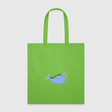 Summer Time Whale - Tote Bag