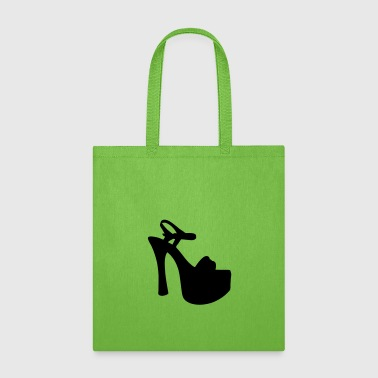 Highheels Vector highheels Silhouette - Tote Bag