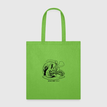 Caterpillar Caterpillar and Alice - Tote Bag