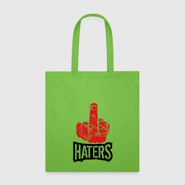 show wanker fuck off you hand middle finger cool h - Tote Bag