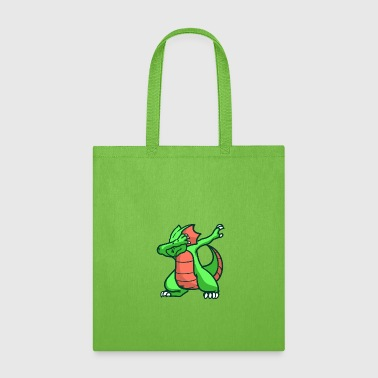 Dragon, fire, mythical creature - Tote Bag