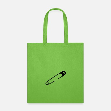 Customizable Safety pin - Tote Bag