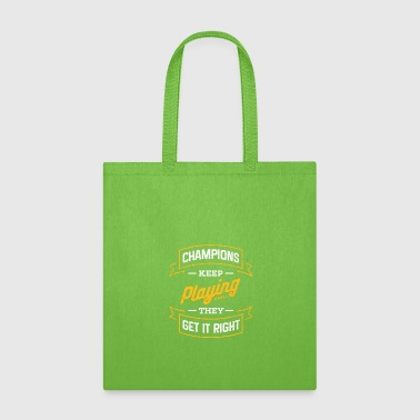 Record Champion Champions - Tote Bag