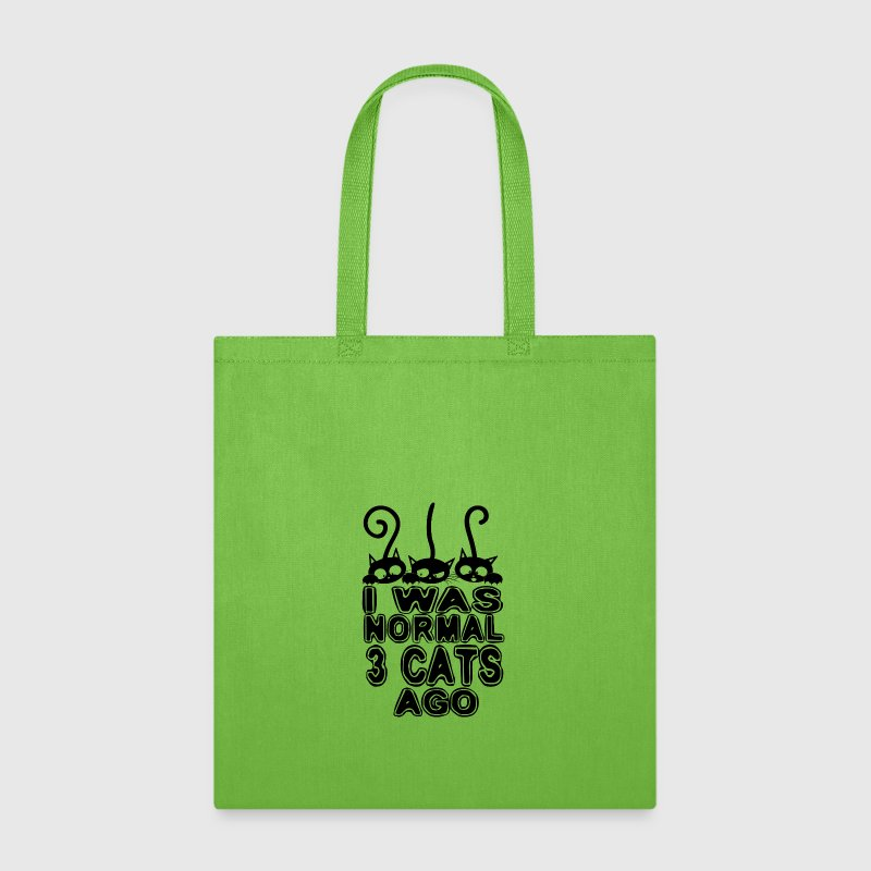 I Was Normal 3 Cats Ago - Tote Bag