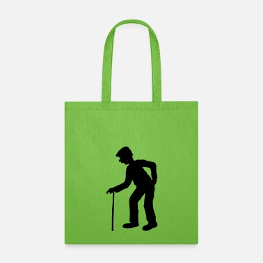 Stockman stock hat walking grandfather grandfather old pens - Tote Bag