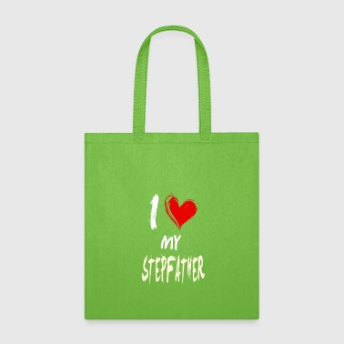 I Love My I love my STEPFATHER - Tote Bag