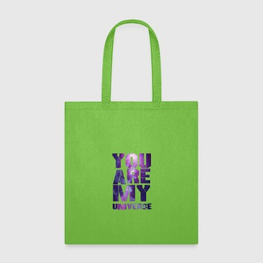 You Are My Universe - Astronauts -Total Basics - Tote Bag