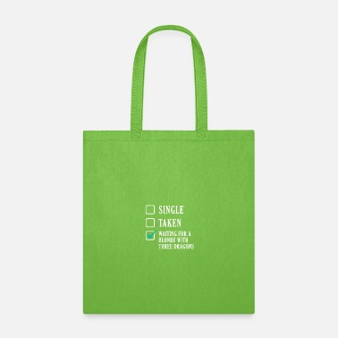 Wait waiting for a blonde - Tote Bag
