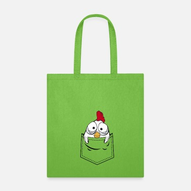 Chicken Chicken in pocket - Tote Bag