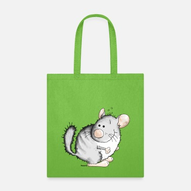 Rodent Sweet Chinchilla - Rodent - Tote Bag