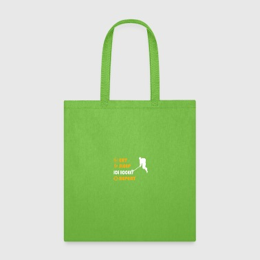 Ice Hockey - present for men and women - Tote Bag