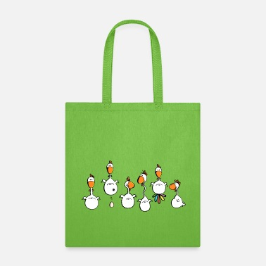 Chicken Crazy Chickens - Chicken - Hens - Tote Bag