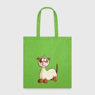 Freddy Ferret - Cartoon - Tote Bag