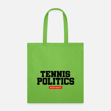 Political Issues Tennis Politics - Tote Bag