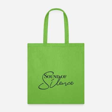 Writing Sound of silence - Tote Bag