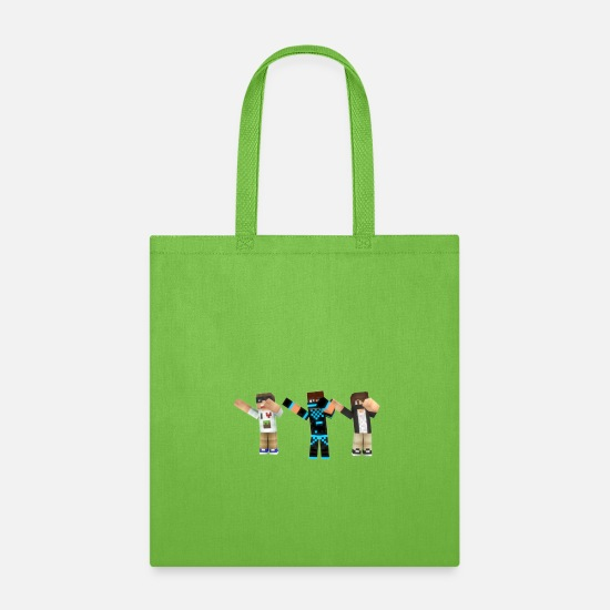 Unique Bags & Backpacks - Frosty, Tyler And Unique Dabbing Pack - Tote Bag lime green