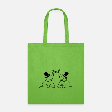 Groom team 2 friends couple sir gentleman gentleman cyli - Tote Bag