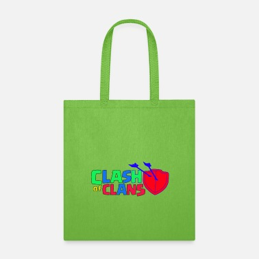 Clash Of Clans Clash of Clans logo Love - Tote Bag