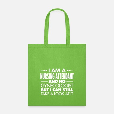 Flight NURSING ATTENDANT - GYNECOLOGIST - Tote Bag