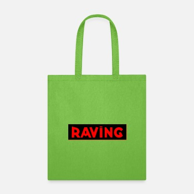 Jumpstyle RAVING black - Tote Bag
