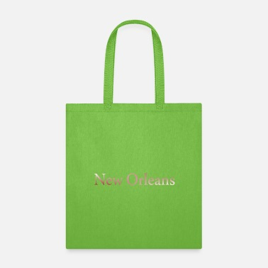 Usa New Orleans horizontal lettering gift idea - Tote Bag