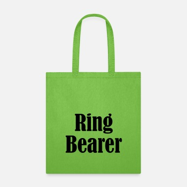 Wedding Ring Ring Bearer, Wedding Ring, Wedding Day - Tote Bag