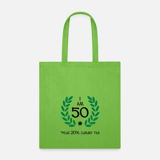 Funny Bags & Backpacks - 60 - 50 plus tax - Tote Bag lime green