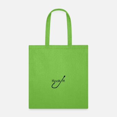 Fish Hook Hook It Fishing - Tote Bag