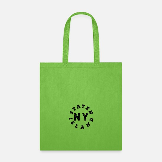 Island Bags & Backpacks - Staten Island NY - Tote Bag lime green