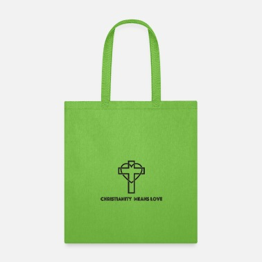Holy Spirit Christianity means Love - Tote Bag