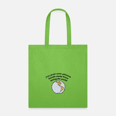 Father And Son Superman Super Hero - Tote Bag
