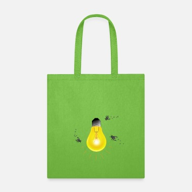 Attractive Light Bulb - Tote Bag