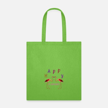 Womens Flamingo Happy American flamingo - Tote Bag