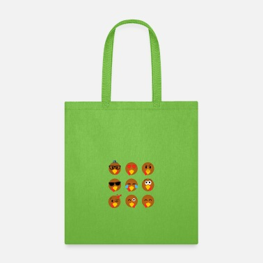 Fall Thanksgiving Day Turkey Gift for Fall Holiday - Tote Bag