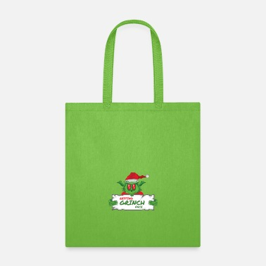 Grinch Resting Grinch Face Christmas Humor - Tote Bag
