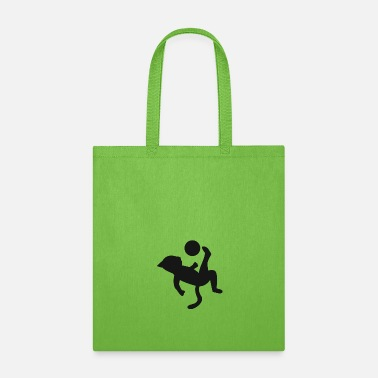 Kick cat football bicycle kick gift idea Soccer - Tote Bag