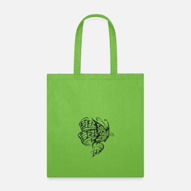 BUTTERLFY MUSIC NOTES - Tote Bag