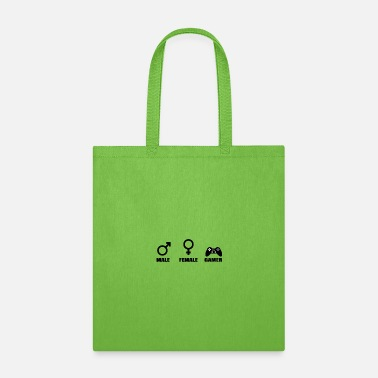 Lan-party PC Gamer Games Gender Humor Gamepad Game Console - Tote Bag