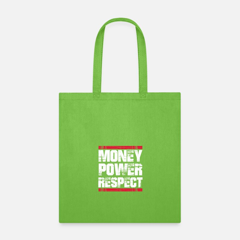 Self Bags Backpacks Money Respect T Shirt Made Millionaire Tote