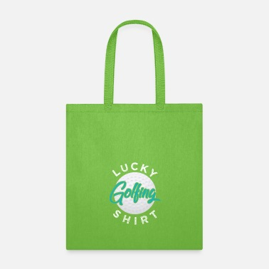 Sporty Lucky Golfing Shirt - Tote Bag