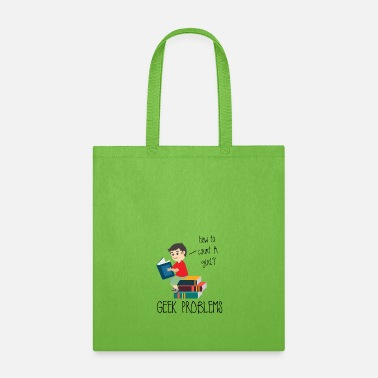 High School Graduate Nerd / Geek Problems - Tote Bag